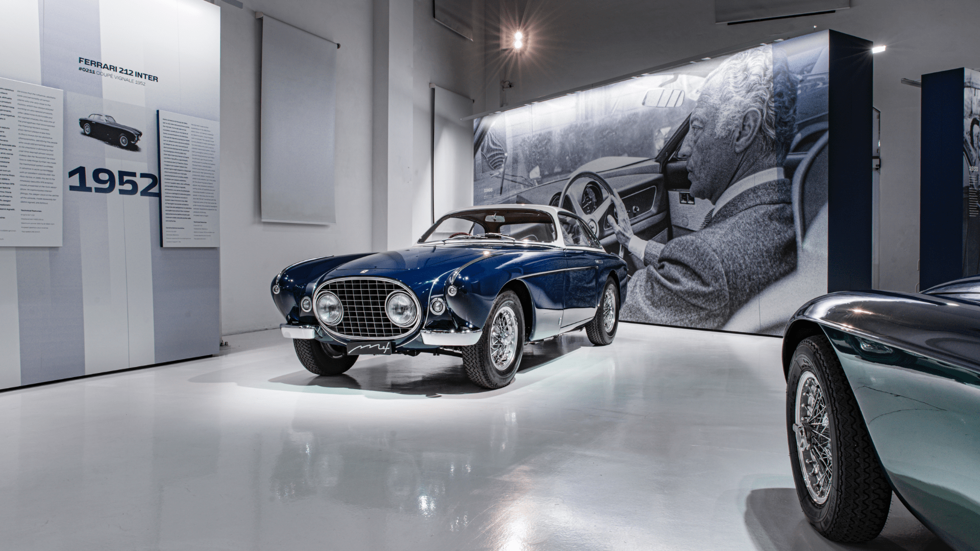 """Gianni Agnelli and Ferrari. The elegance of the legend"", centenary exhibition at the MEF Modena."