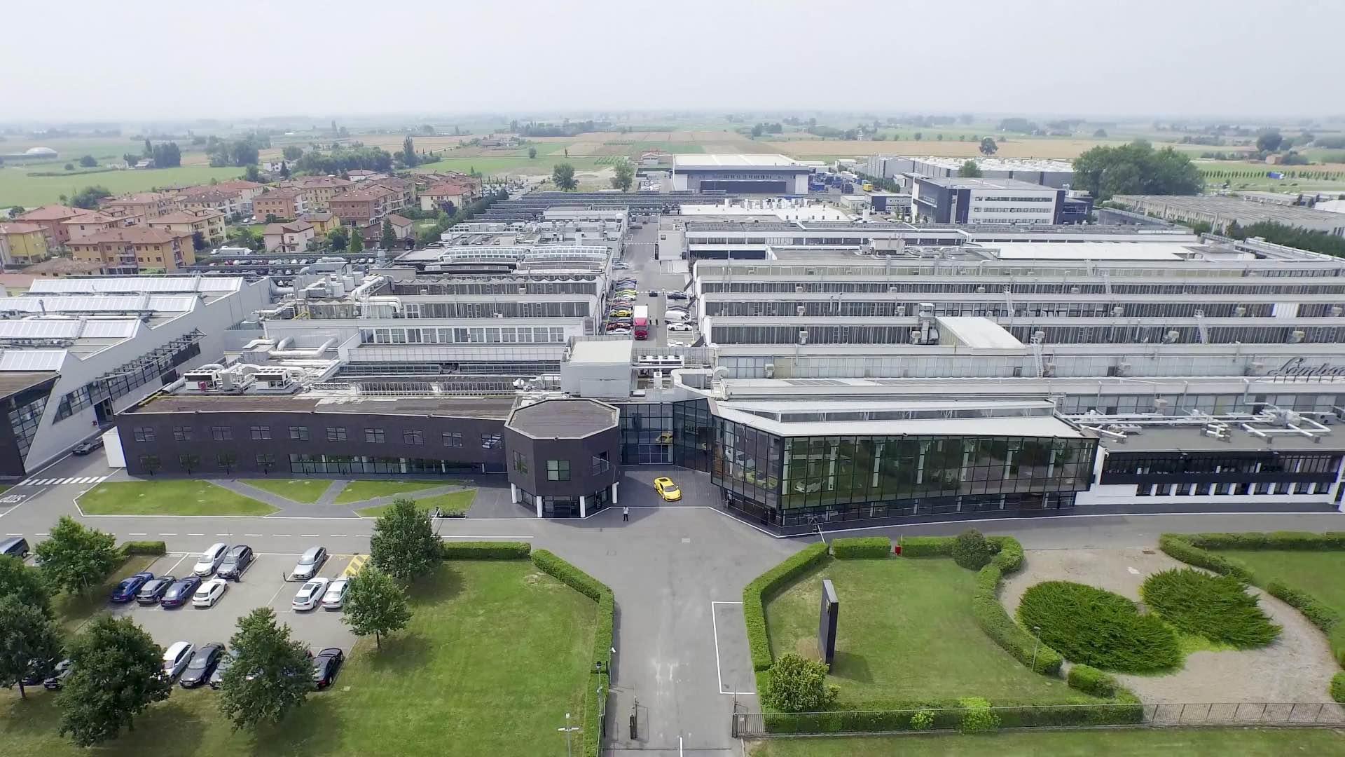 """Lamborghini announces its roadmap for electrification: """"Direzione Cor Tauri""""."""