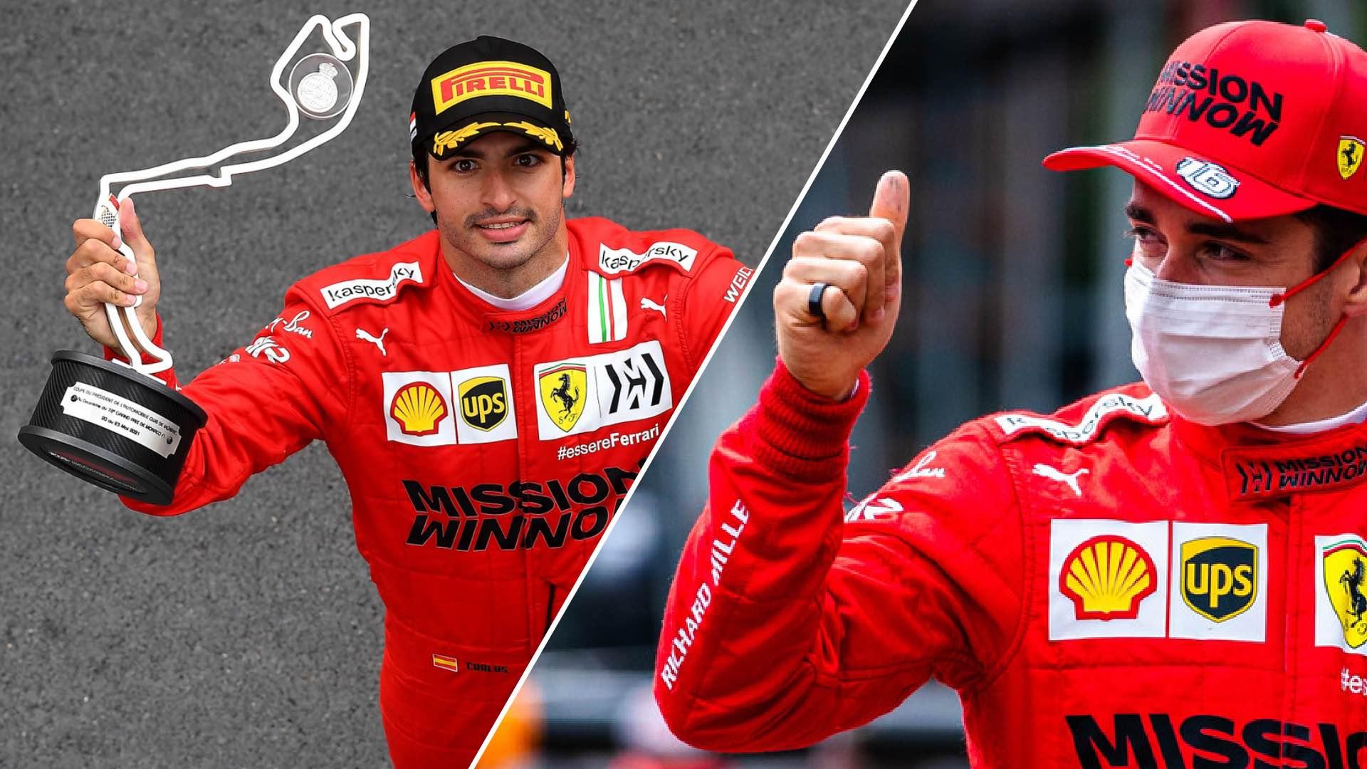 F1, GP Montecarlo: Scuderia Ferrari, happy and disappointed.