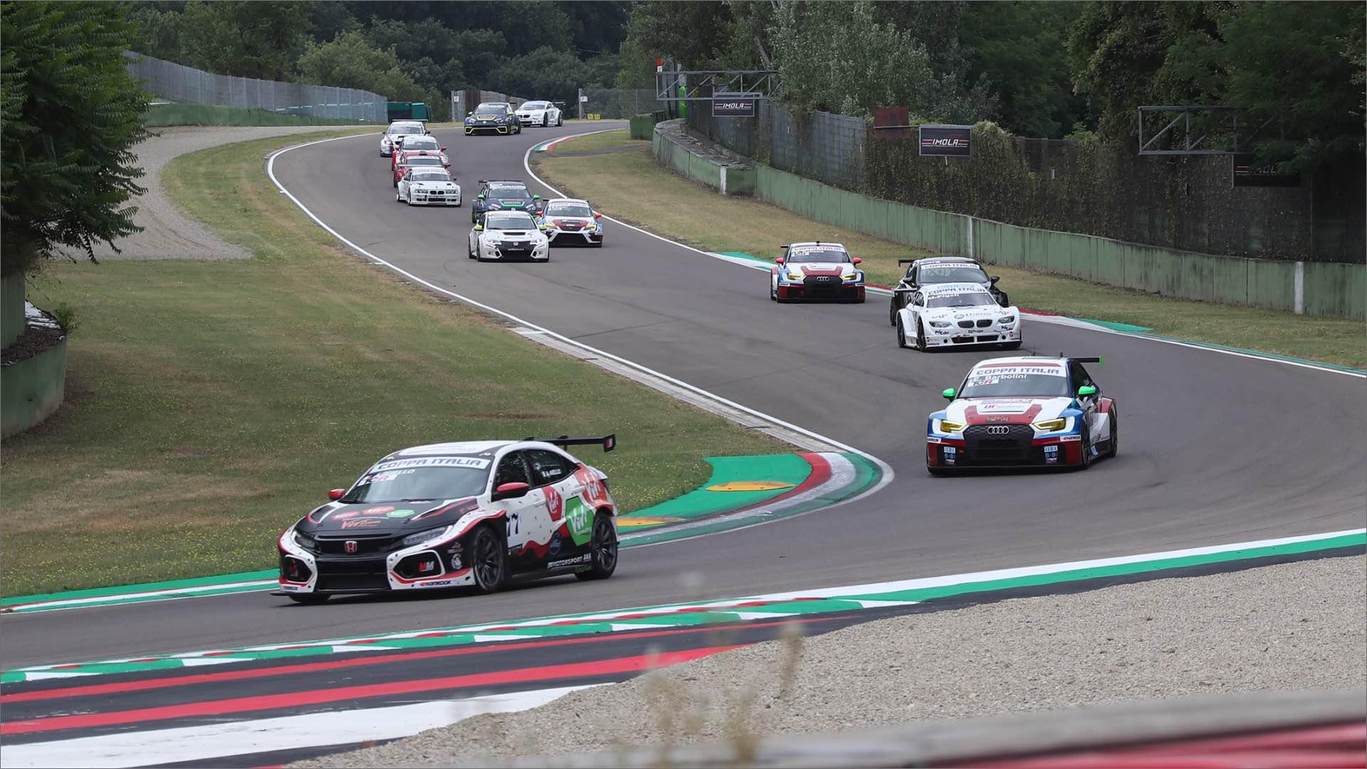 Autodromo Enzo e Dino Ferrari di Imola, è conto alla rovescia per il Peroni Race Weekend.