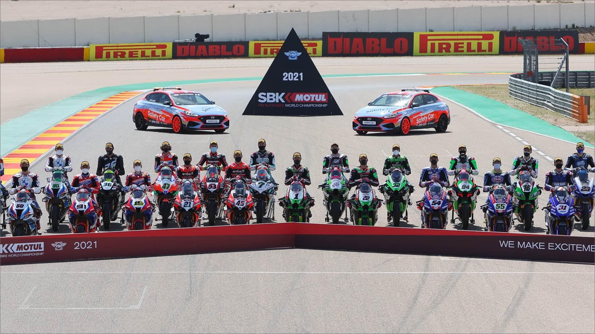 SBK, Misano World Circuit; sono oltre 5.000 gli ingressi giornalieri autorizzati.