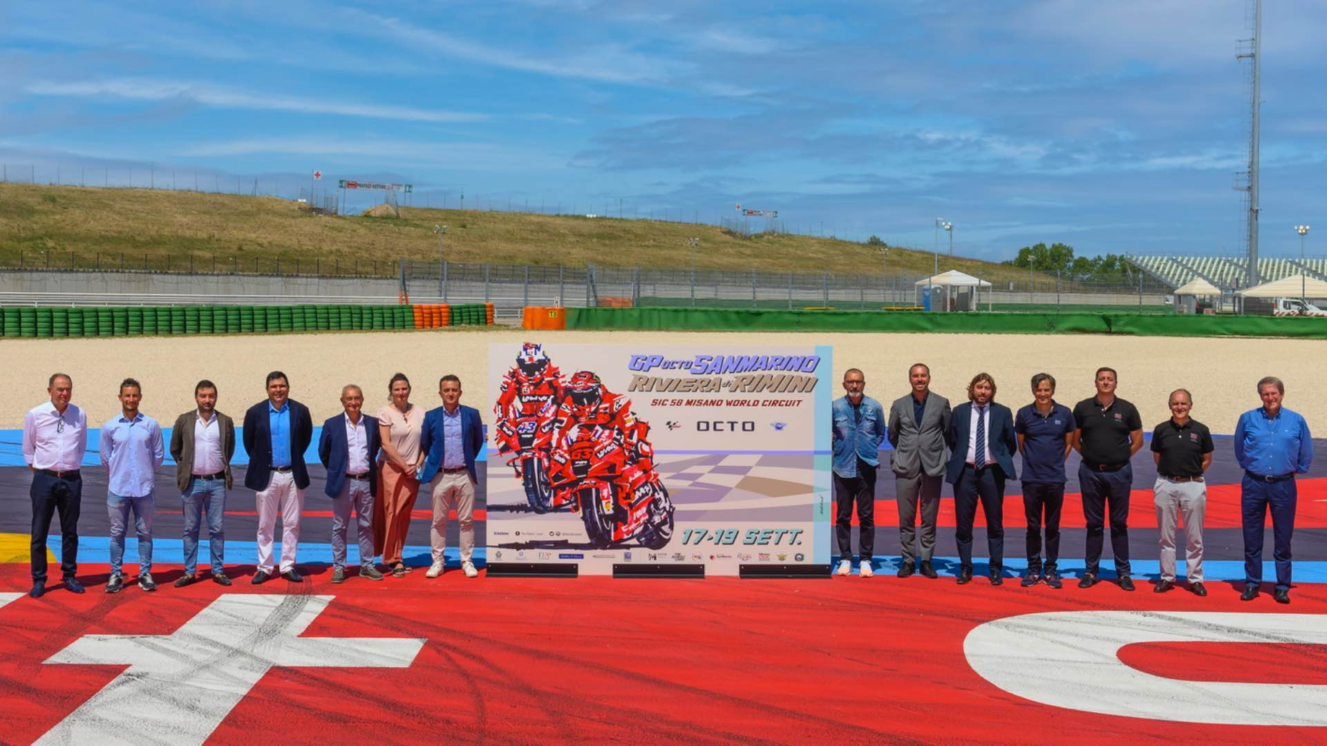 MotoGP returns to Misano. The promotion of the great event starts from the Official Poster.