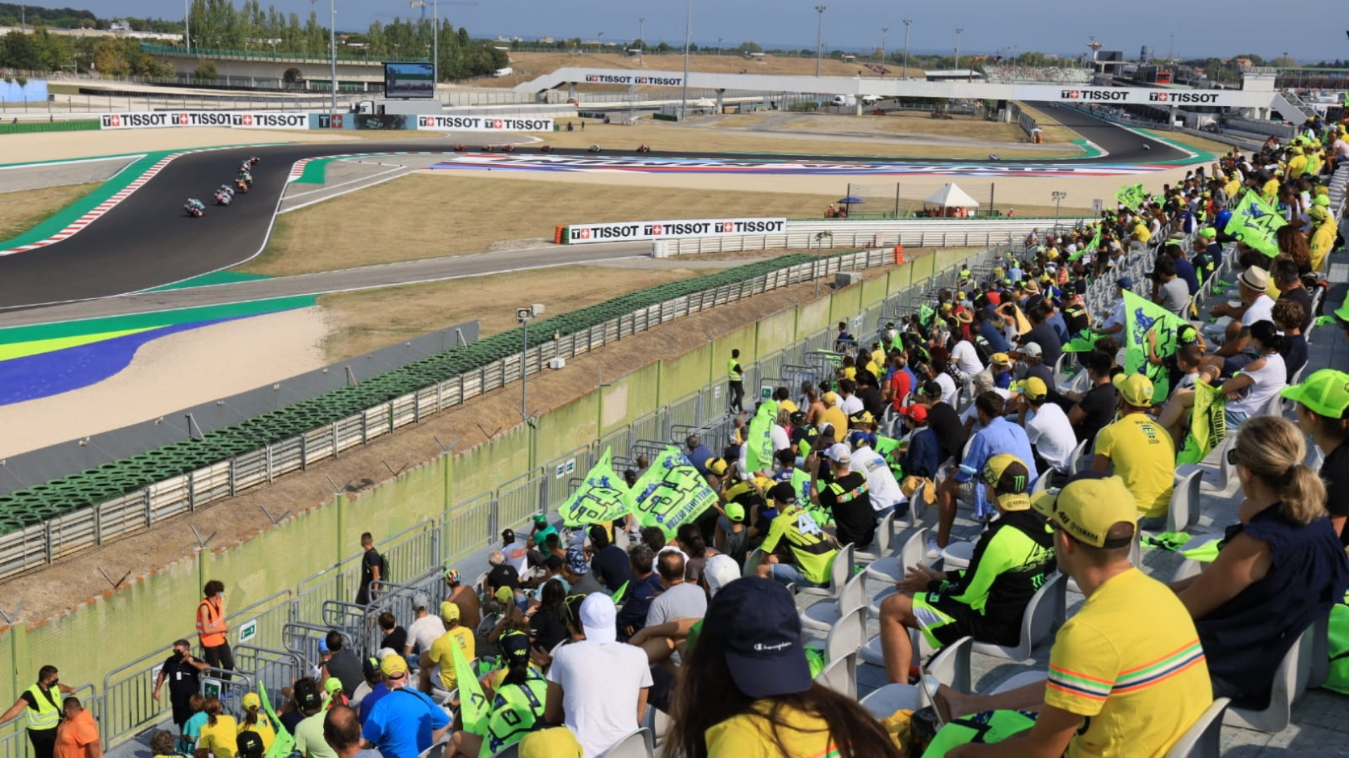 MotoGP: two Grand Prix in Misano, in October the second round in the Motor Valley.