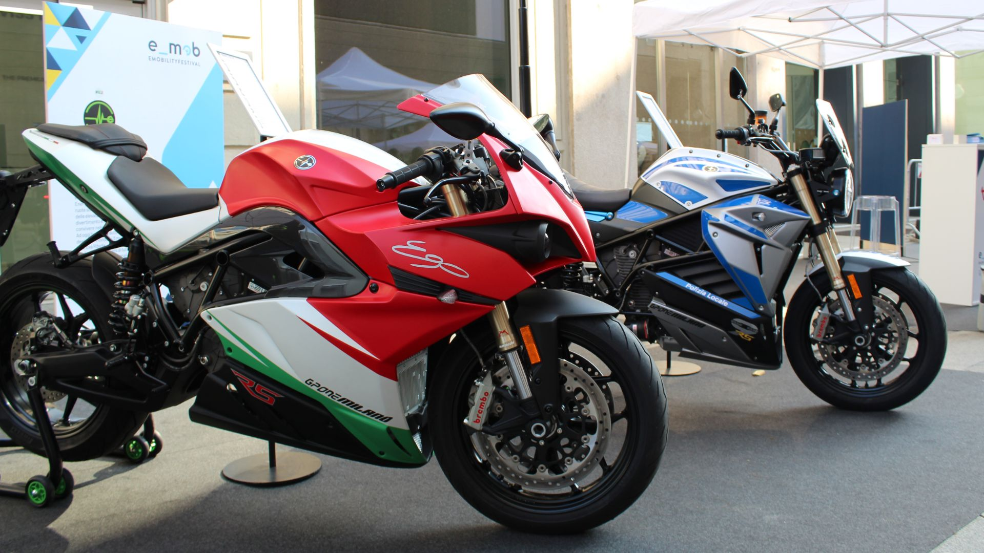 Energica attends the E_Mob Festival 2021 with some interesting news.