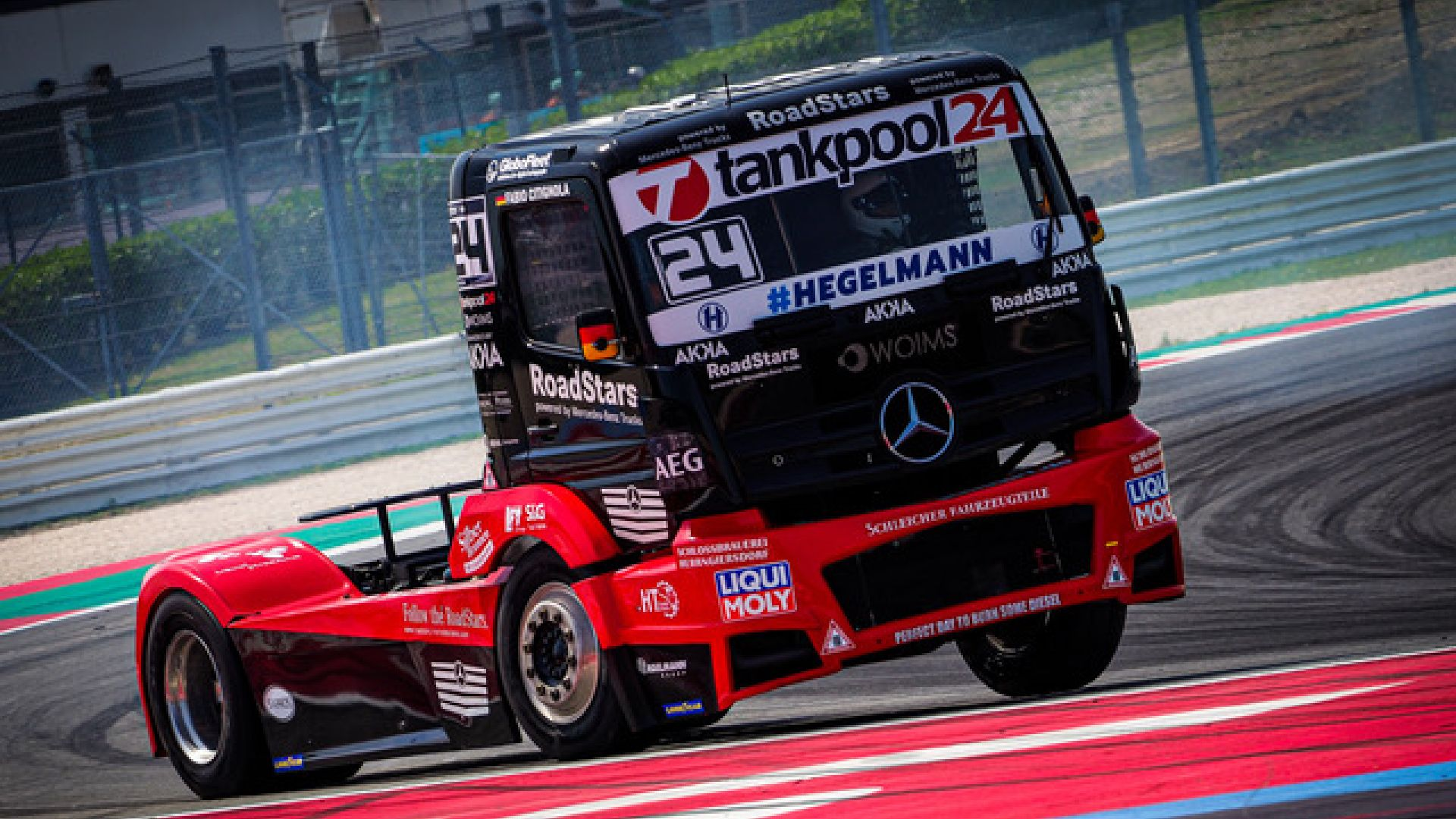 The Grand Prix Truck arrives in Misano for the last round of the season.